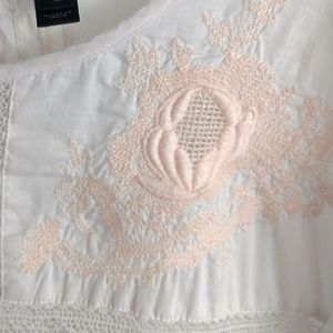 J. Crew Tops - J Crew Embroidered Lace Top Pink 12